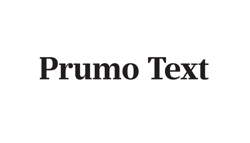 Prumo text sample from DSType.