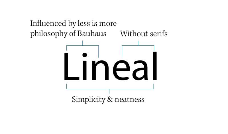sans-serif type sample diagram